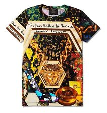 Versace T shirt Gold Medusa Men New The Haas brothers M , X , L , Fashion Urban