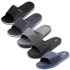 Mens Slip On Sport Slide Sandals Flip Flop Shower Shoes Slippers House Pool Gym