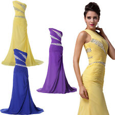Luxury Women's Long Maxi Formal Bridesmaid Party Evening Prom Gowns Slim Dresses