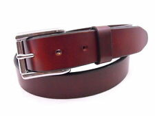"""Orion Leather Men's 1 1/4"""" Show Harness Chestnut Leather Belt Nickel-free Casual"""