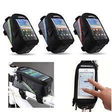 """Roswheel Bicycle Frame Front Tube Bag with Audio Extension Line for 5.5"""" US"""