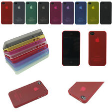 Transparent 0.3mm Ultra Thin Slim Back Cover Case Skin For Apple iPhone 4 4S