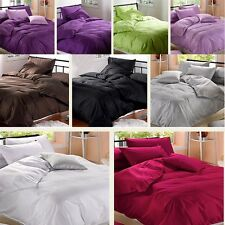 Duvet Cover With 2 PillowCases Bedding Set Quilt Cover Double King  Size