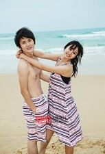 New Couple Lover Men's Beach Surf Board Shorts Pants Women's sexy Skirt S1061