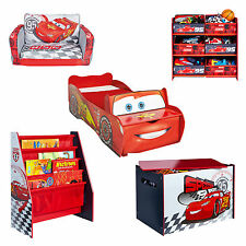 Choose from: Disney Cars Furniture Toddler Single Junior Bed Bookcase Storage