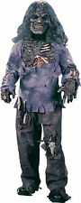 Zombie Child Costume Mummy Complete Rotted Flesh Chest Mask Gloves Halloween