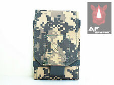 MA24s Military Army Combat Camo Velcro Pouch DPM Bag Belt Loop Case Holster ACU