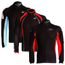 New Fleece Thermal Winter Cycling Long Sleeve Jersey Bike Casual Shirts 7 Color