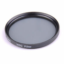 ND2 ND4 ND8 ND16 ND32 Neutral Density Lens Filter For Canon Nikon 58mm 62mm 72mm