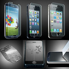 TEMPERED REAL GLASS CLEAR SCREEN PROTECTOR FILM GUARD FOR VARIOUS MOBILE PHONES