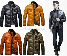 Stylish Mens Boutique Down Stand Collar Warm Winter Tops Jackets Coat W0053 GAU