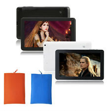 "9"" Google Android 4.4 KitKat Tablet PC 8GB WIFI HDMI Dual Core Cam W/Pouch Bag"