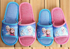 Xmas Gift Movie Frozen Elsa Anna Princess Slippers Kid Girls Boy Children Shoes