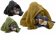 """100% Cotton 46"""" Sniper Veil Shemagh Scarf Concealment Wrap w/ Cinch-Cords NWT"""