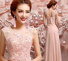New Long Prom Bridesmaid Gown Evening Formal Party Cocktail Prom Dress