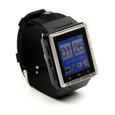 Dual Core Android 4.0 Touch Smart Watch 3G Phone WiFi GPS 2MP Camera G-sensor FM