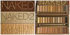 URBAN DECAY NAKED 1, 2 & 3 EYESHADOW PALLETTES BNIB VARIOUS SHADES