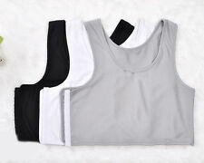 Short Buckle Chest Breathable Buckle Short Chest Binder Lesbian Tomboy UK