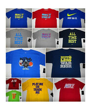 Assortment of Brand New Boys Nike Graphic T-Shirt All Kids Sizes S, M, L & XL
