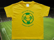 NORWICH CITY Football Baby/Kid's/Children's T-shirt Top Personalised- Any colour