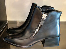 ZARA LEATHER ANKLE BOOT WITH ZIP 36-41 Ref. 5103/301