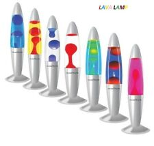 "NEW 16"" PEACEFUL MOTION LAVA LAMP RELAXATION SOOTHING LIGHT WAX LIQUID XMAS GIFT"