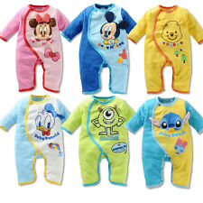 NEW Disney Baby Boys Girls Clothes Romper Jumpsuit Sleeping Bag Pajamas 0-18 M