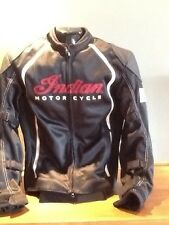 NEW Genuine Indian Motorcycle Men's Springfield Mesh Jacket Removable Liner