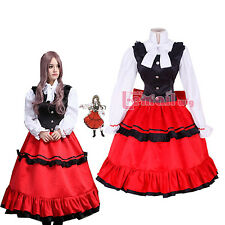 Axis Powers Hetalia APH Hungary Elizabeth Nation Dress Cosplay Costume Outfit