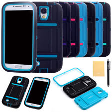 Defender Shockproof Protect Impact Soft Hard Case Cover for Samsung Galaxy S4 HK