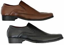 MENS FORMAL SHOES NEW GIO GINO OFFICE PARTYWEAR SLIP ON ALL SIZES 6 TO 11