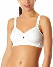 Berlei Gossard White Classic Cotton Full Coverage Cup Bra Soft Cup B512 RRP £26
