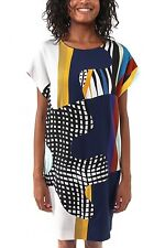 """ROBE PUZZLE MULTICOLOR """"KELSEY"""" DVF"""