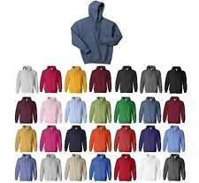 MEN'S COTTON / POLY, ANTI-PILL, PULLOVER HOODIE, PRESHRUNK S M L XL 2X 3X 4X 5X