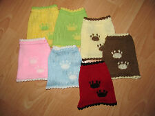 "Dog jumper sweater Chihuahua Yorkie small 6 "" knitted puppy doggie clothes coat"