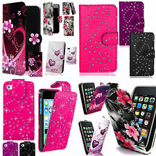 Patterned PU Leather Case Cover Wallet Flip for Samsung Galaxy Phones + Stylus