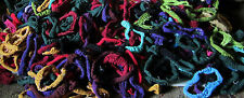 Potholder & Coaster Loom Refills - Various Colors and Blends Cotton Sock Loops