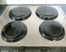 4pc Stainless Steel Hob Covers for Electric Hobs (choice of colours)