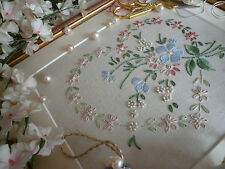 Embroidery Kit:Vintage Heart: Choose Pink or Lemon:Beautiful Kits By Maggie Gee