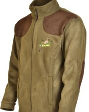 Percussion Green Phesant embroidered Shooting Fleece jacket, Shooting, Hunting
