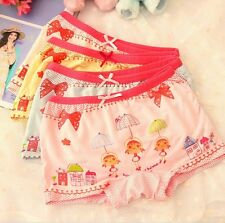 2014 New Girls Cotton Cartoon Underwears Children Briefs Kids Cute Panties 4/PCS