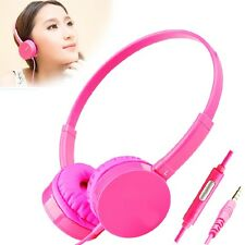 Sport Stereo Hands Free Mic Call Headset Headphone For IOS Andriod Cell Phone