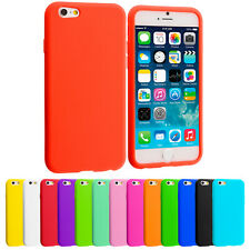 For Apple iPhone 6 Plus 5.5 Silicone Rubber Soft Skin Case Cover Accessory