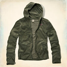 Hollister by Abercrombie Men's Camo Zip Up Hoodie T-Shirt Various Sizes NWT