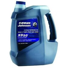 Johnson Evinrude XD50 2-Cycle Synthetic Blend Oil - Pick A Size