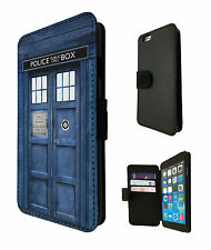 Doctor Who Tardis Call Box iphone 4 5 5C iphone 6 / 6 Plus Case Flip Card Purse
