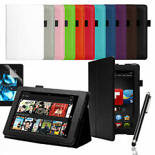 """SMART PREMIUM PU LEATHER CASE COVER FOR AMAZON KINDLE FIRE HD 7"""" (2nd Gen.2013)"""