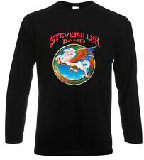 The Steve Miller Band ABRACADABRA Rock Band Long Sleeve Black T-Shirt Size S-3XL