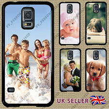 PERSONALISED Samsung Galaxy S5 Case Phone Cover  CUSTOM PRINTED Photo and Text