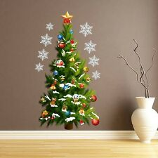 NEW Christmas Tree Art Decal Wall Sticker Removable Home Decoration Room Decor